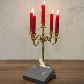 Engels Kerzen KAMIN-KERZEN in gelackter Ausführung