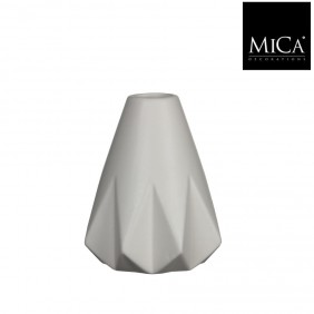 MICA Vase MIA off white Ø 13,5 cm
