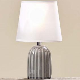 Boltze Lampe aus Keramik oval