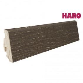 HARO Steckfußleiste für Parkett versiegelt-Achateiche gekalkt