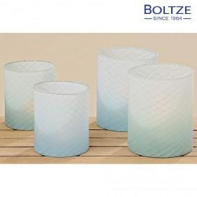 Boltze Windlicht 2-tlg. Set Höhe 12-15 cm