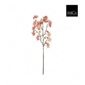 MICA Kunstpflanze Blütenzweig in rosa