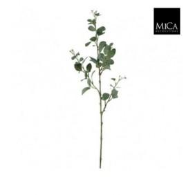 MICA Kunstpflanze Eucalyptus Zweig in Grün