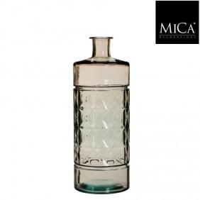 MICA Vase / Flasche GUANA  Hellbraun Ø 15 cm