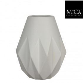 MICA Vase MIA off white Ø 24,5 cm