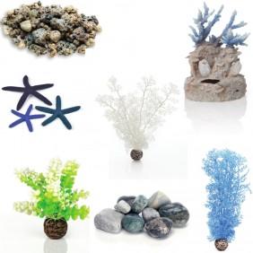 biOrb Aquarium Dekoration - Blaue Lagune - für Serie FLOW
