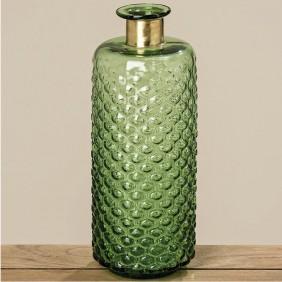 Boltze Vase STRATOS aus Glas durchgefärbt