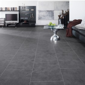 KWG Designvinyl ANTIGUA STONE Graphit Stone-HYDROTEC