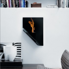 calaido fire design BIO-KAMIN A4 in schwarz