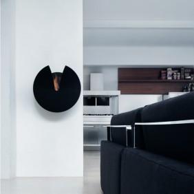 calaido fire design Design BIO-KAMIN SLIT in schwarz