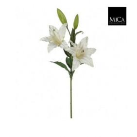 MICA KunstpflanzeLilie Casablanca in Weiß