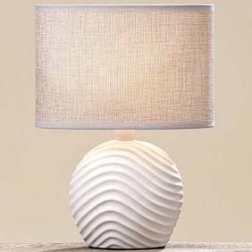 Boltze Lampe aus Keramik gerundet
