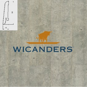 WICANDERS Steckfußleiste Beton Haze