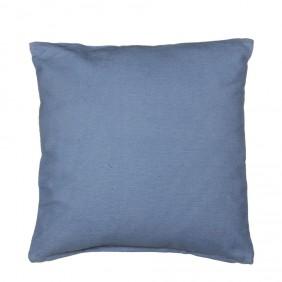 MICA Kissen SAVANNA in Blau aus 100% Baumwolle