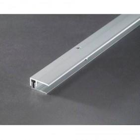 Provario Universal Abschlussprofil AluminiumSilber/Champagner/Edelstahl, 100cm