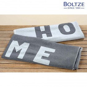 Boltze Decke HOME 2-tlg. grau