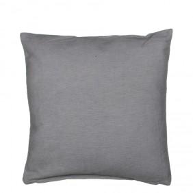 MICA Kissen SAVANNA in Grau aus 100% Baumwolle