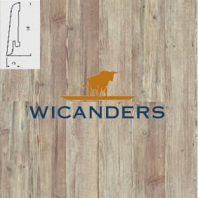WICANDERS Steckfußleiste Pinie Rustikal Metal