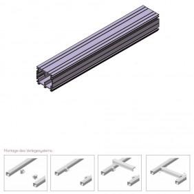 elevato Terrassensystem VALVA Basisprofil 60 x 50 mm - Aluminium