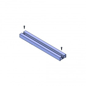 elevato Terrassensystem VALVA Strebenprofil für Basisprofil 60 x 25 mm
