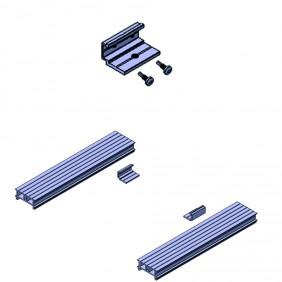 elevato Terrassensystem VALVA T-Verbinder für Basisprofil 60 x 25 mm