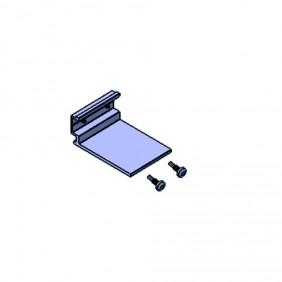 elevato Terrassensystem VALVA Träger für Beschwerung zu Basisprofil 60x50 mm