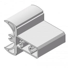 elevato Terrassensystem VALVA Gelenkverbinder für Basisprofil 60x50 mm