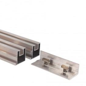 aMbooo Extensionn für Unterkonstruktion Aluminium 43 x 40 mm