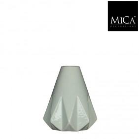 MICA Vase GEM in mintgrün Ø 13,5 cm
