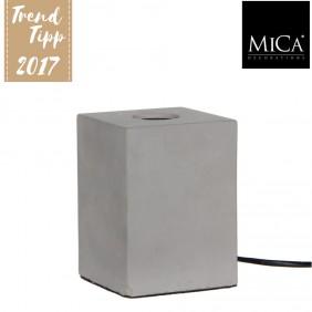 MICA Tischlampe NEW YORK in Betonoptik
