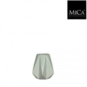 MICA Vase GEM in mintgrün Ø 9 cm