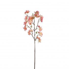 MICA Kunstpflanze Blütenzweig in hellrosa