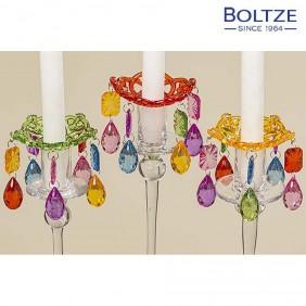 Boltze Kerzenring CRYSTAL Ø 8 cm