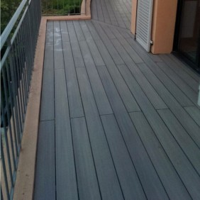 FUN-Deck WPC-Terrassendiele Multigrey dark