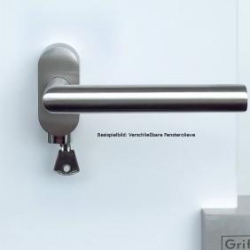 GRIFFWERK Griffpaar ADINA K3 Klippgarnitur- Edelstahl poliert / matt