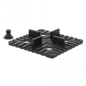 aMbooo Montage Set Rechteck Pad PP für Mega Deck
