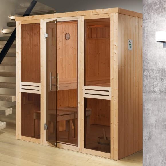 Weka Sauna Kaarina 1 - Elementsauna mit Fronteinstieg
