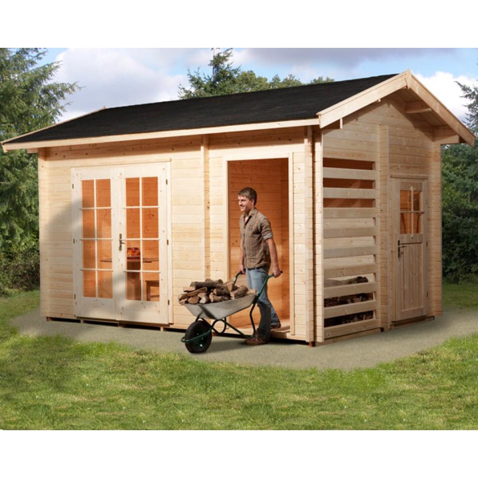Weka 28 mm gartenhaus 150 multifunktion mein - Gartenhaus mit holzlager ...