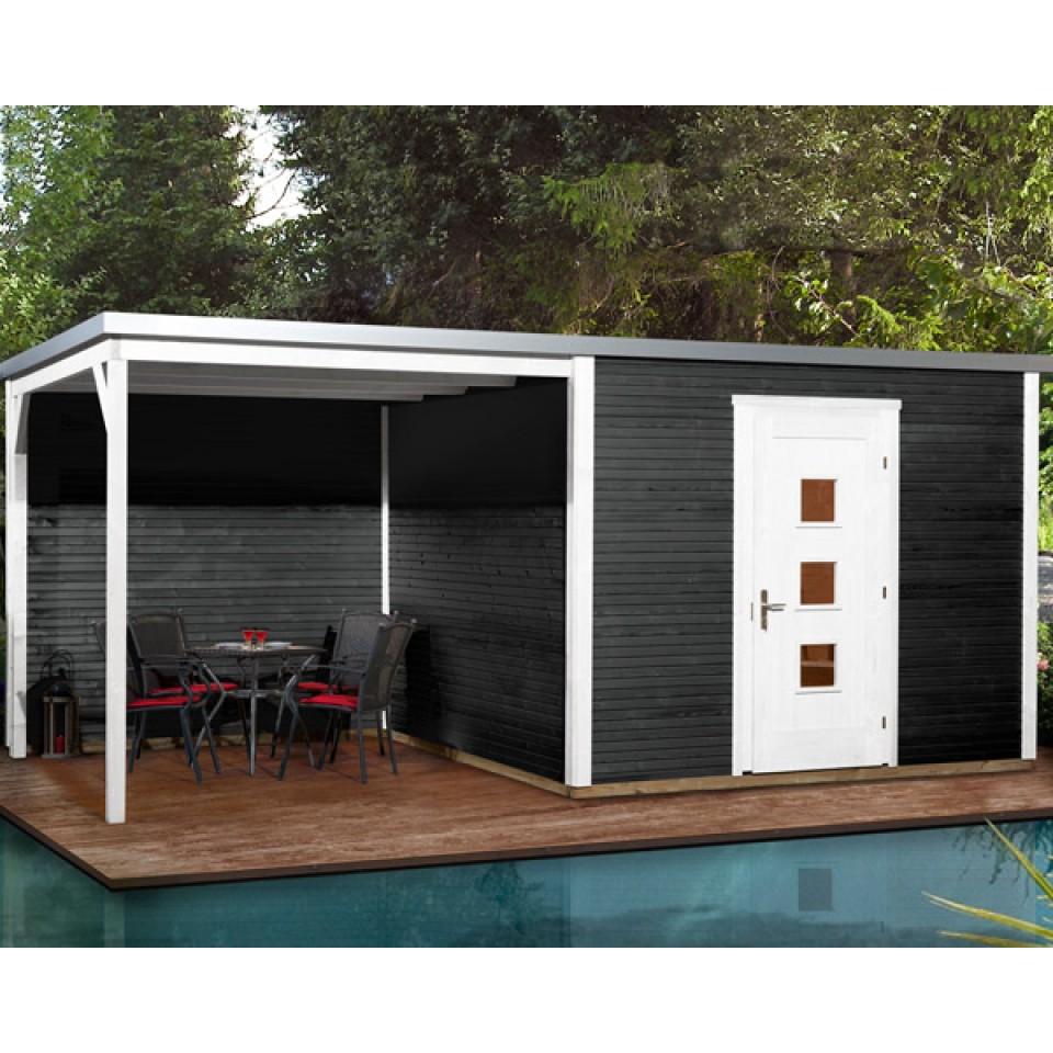 weka designhaus 413 b 45 mm inkl 300 cm anbau mein. Black Bedroom Furniture Sets. Home Design Ideas