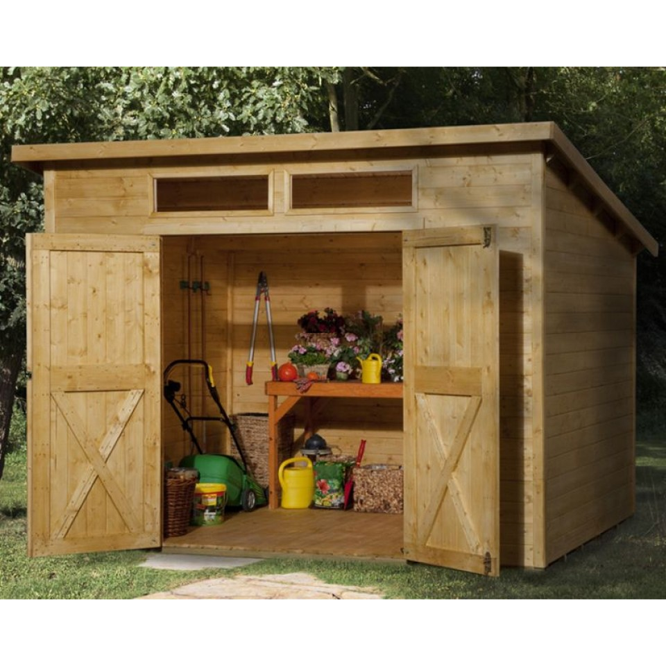 weka 19 mm gartenhaus 325 a mein. Black Bedroom Furniture Sets. Home Design Ideas