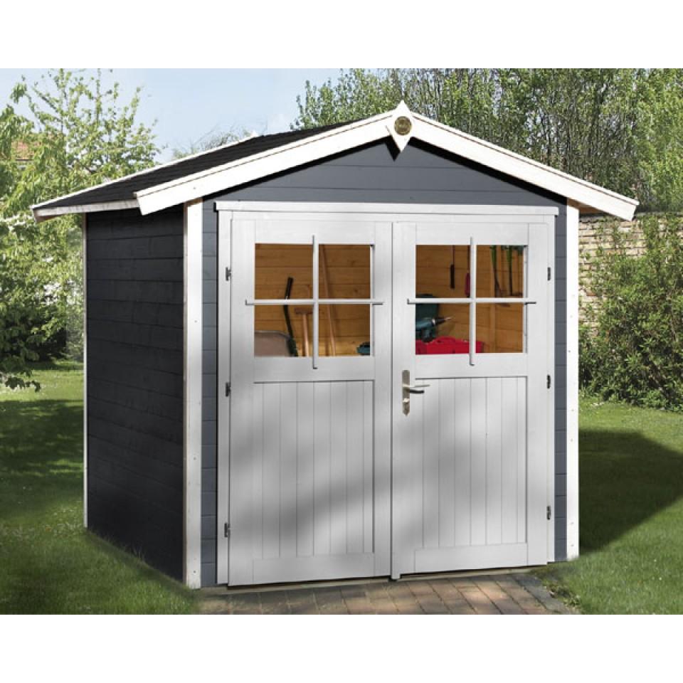 weka gartenhaus 224 21 mm mein. Black Bedroom Furniture Sets. Home Design Ideas