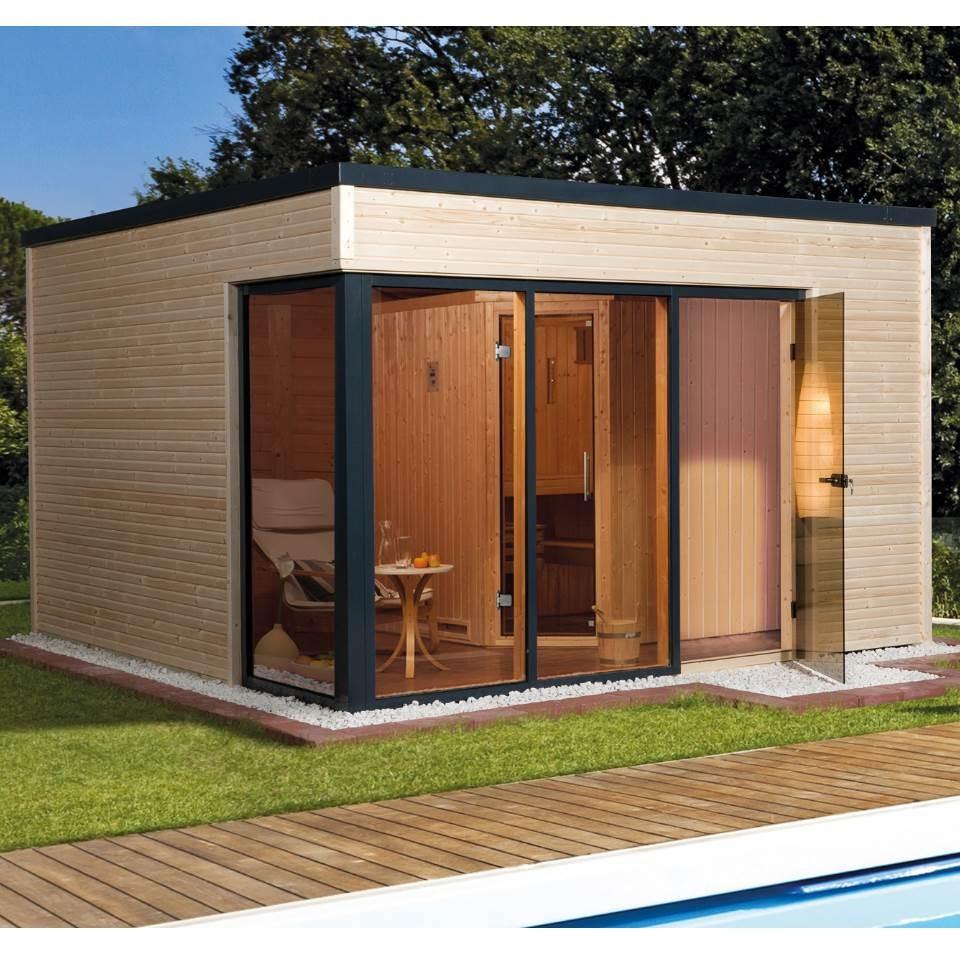 sauna im gartenhaus einbauen. elegant bauen gebude garten gartenbau