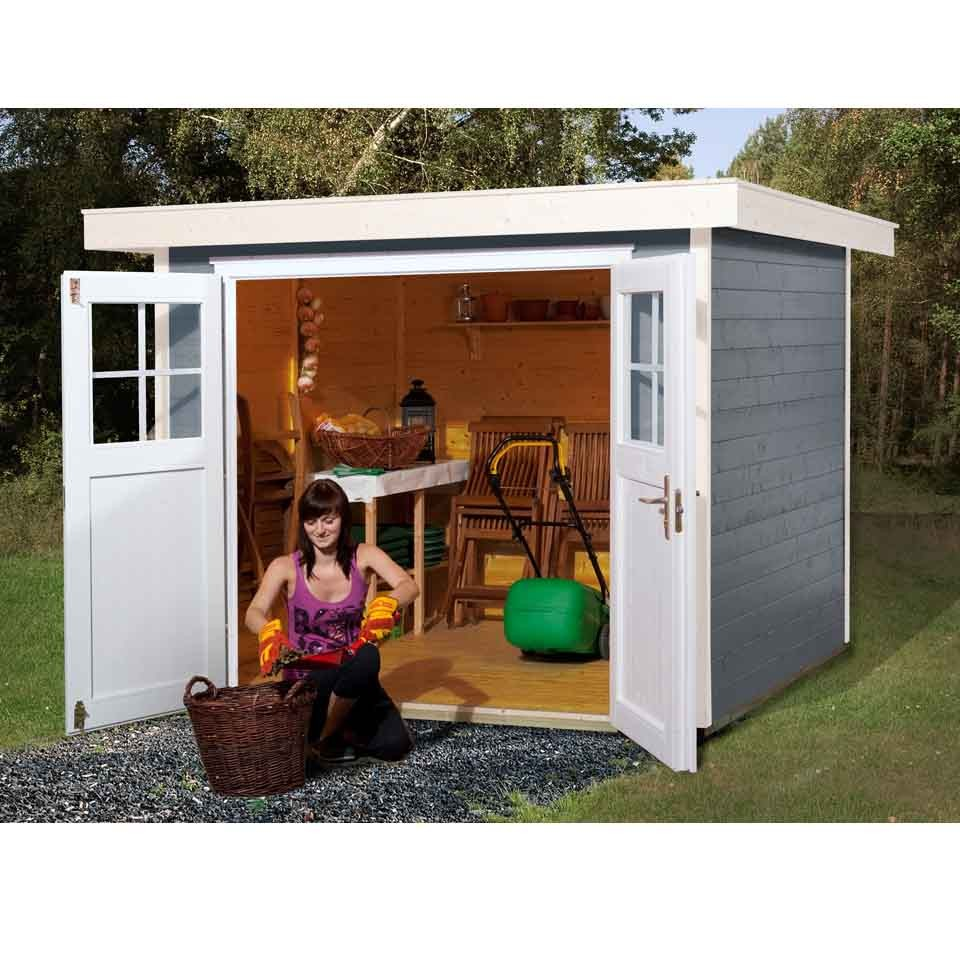 weka gartenhaus 227 21 mm mein. Black Bedroom Furniture Sets. Home Design Ideas