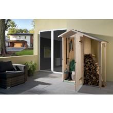 Weka 14 mm Garten- und Terrassenschrank 351 A mit Schleppdach