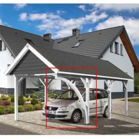 Weka Leimholzrundbogen für Carport Leimholz Flach- und Satteldach