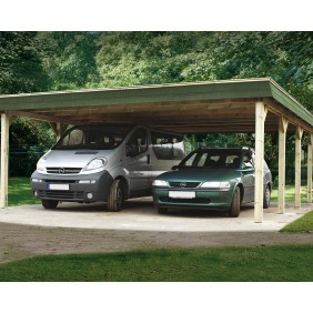 Weka Carport Optima DeLuxe