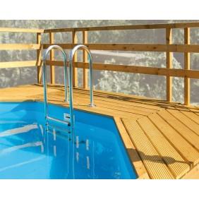 Weka Sonnendeck für Pool 593 B Gr.1+2, 594 und 594 A