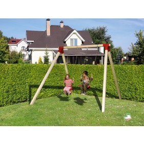 Weka Kinderspielgerät Doppelschaukel Funny 1