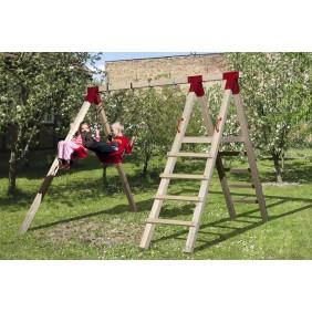 Weka Kinderspielgerät Abenteuer-Doppelschaukel Funny 2