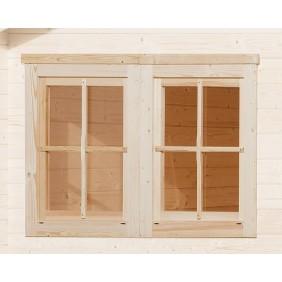 Weka Zusatz- Doppelfenster
